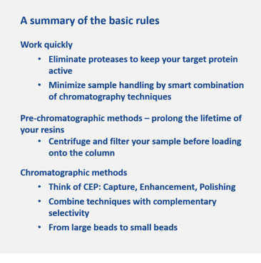 summary of basic rules